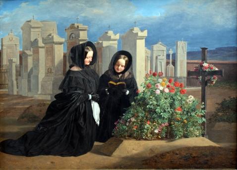 1839_Waldmüller_Am_Allerseelentag_anagoria